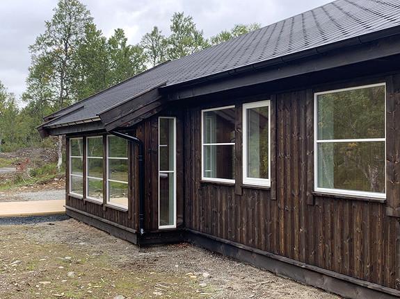 Dalslia – Hytte med 4 soverom, hems med ekstra sengeplasser