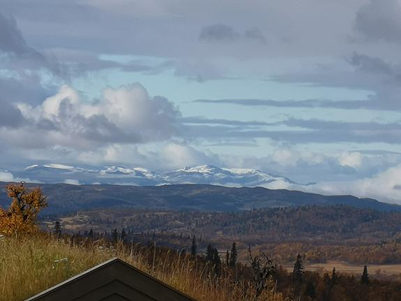 LENNINGEN Nøkkelferdig prosjektert eksklusiv hytte på fantastisk høyfjellstomt