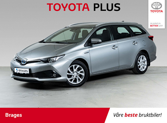 Toyota Auris Touring Sports 1,8 Hybrid Active S P.sens, Navi, Cruise  2017, 44800 km, kr 219000,-