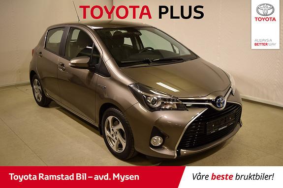 Toyota Yaris 1,5 Hybrid Active S e-CVT SE KM. STAND!!  2016, 26700 km, kr 169000,-