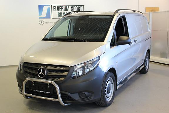 Mercedes-Benz Vito V119 4X4 A1 Kort aut  2017, 28000 km, kr 379000,-