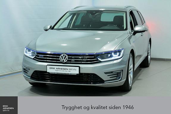 Volkswagen Passat GTE PLUG IN-HYBRID *KAMPANJE*  2017, 41300 km, kr 339900,-