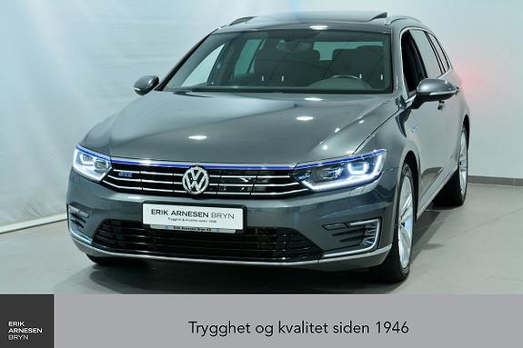 Volkswagen Passat GTE PLUG-IN HYBRID *KAMPANJE*  2017, 44700 km, kr 319900,-