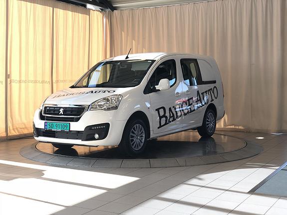 Peugeot Partner Mester 1,6 BlueHDi 100hk L2  2018, 9800 km, kr 178900,-