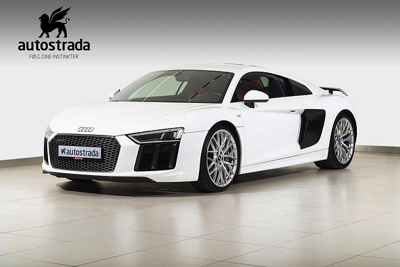 Audi R8 V10 Plus 610 HK - Fantastisk bil!