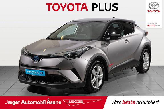 Toyota C-HR 1,8i Hybrid Lounge Tech  2018, 53200 km, kr 299000,-