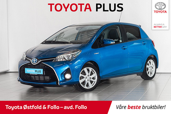 Toyota Yaris 1,5 Hybrid Style e-CVT  2017, 40265 km, kr 185000,-