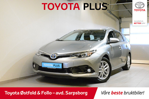 Toyota Auris Touring Sports 1,8 Hybrid Active S  2017, 47 600 km, kr 218 000,-