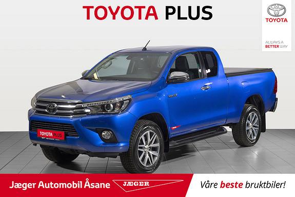 Toyota HiLux D-4D 150hk X-Cab 4WD SR  2019, 10500 km, kr 399000,-