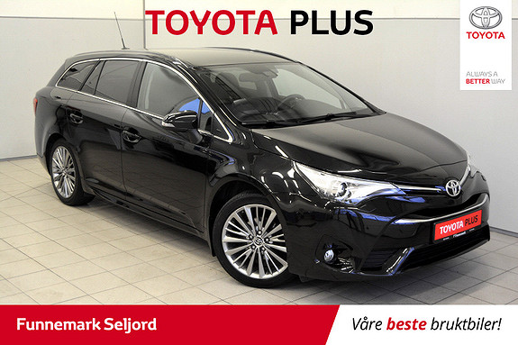 Toyota Avensis Touring Sports 1,8 Active Style M-drive 7S Aut//Lav km-  2016, 22 000 km, kr 259 000,-