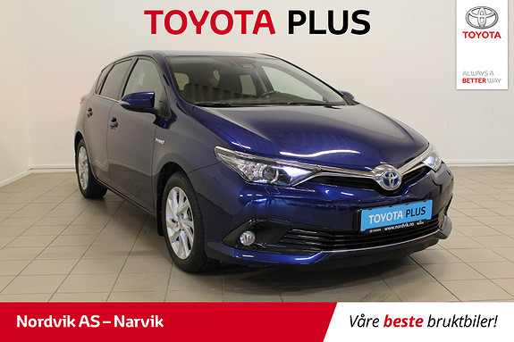 Toyota Auris 1,8 Hybrid E-CVT Active Sport | NYE DEKK |  2017, 74850 km, kr 215000,-
