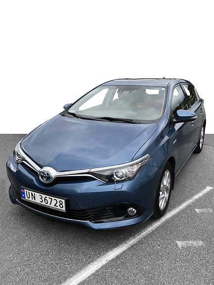 Toyota Auris 1,8 Hybrid E-CVT Active S **VELHOLDT**NYBILGARANTI  2016, 43753 km, kr 209000,-