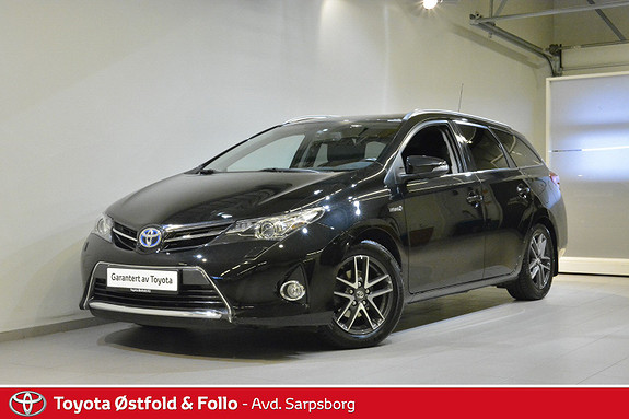 Toyota Auris Touring Sports 1,8 Hybrid Active+  2015, 53 200 km, kr 195 000,-