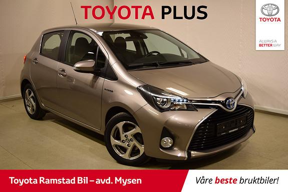 Toyota Yaris 1,5 Hybrid Active S e-CVT  2015, 68000 km, kr 149000,-