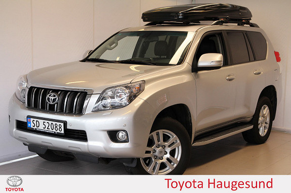 Toyota Land Cruiser LC150 3,0 D-4D VX aut. SKINN, NAVI, VARMER, TECTYL ++  2010, 150500 km, kr 419000,-