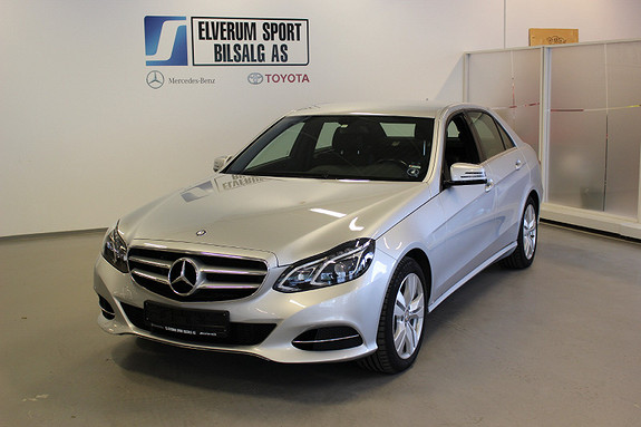 Mercedes-Benz E-Klasse E200 CDI Avantgarde aut  2014, 79200 km, kr 299000,-