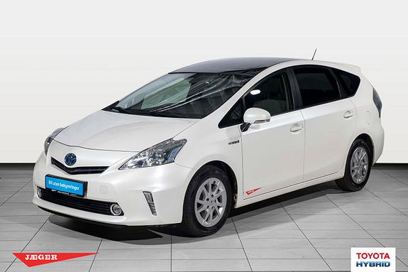 Toyota Prius+ Seven 1,8 VVT-i Hybrid Executive 7 seter Glasstak  2012, 92600 km, kr 199000,-