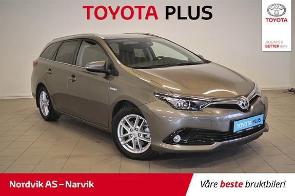 Toyota Auris 1,8 Hybrid E-CVT Active | Leveres med FERSK SERVICE |  2017, 29946 km, kr 239000,-