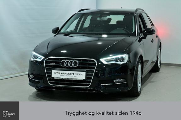 Audi A3 Sportback 1,6 TDI 110hk Ambition quattro *KAMPANJE*  2016, 33700 km, kr 259900,-