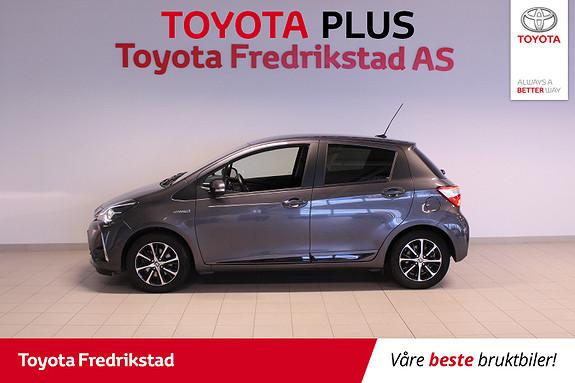 Toyota Yaris 1,5 Hybrid Active+ e-CVT aut  2018, 48000 km, kr 219000,-