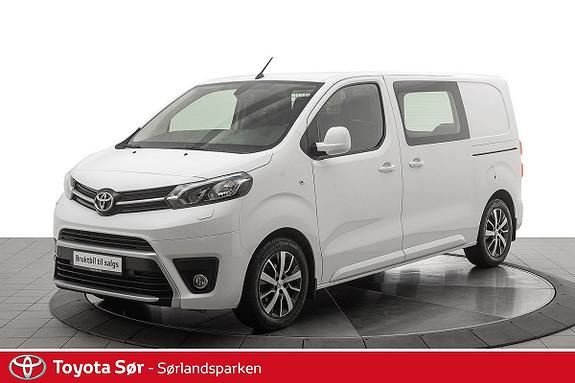 Toyota Proace 1,6 D 115 Comfort Medium L1H1 m/hengerfeste  2016, 71708 km, kr 189000,-