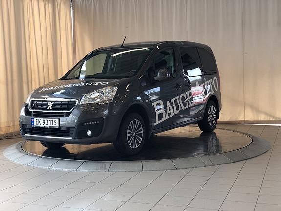 Peugeot Partner Electric Navigasjon.Ryggekamera.Dab  2018, 8020 km, kr 209000,-