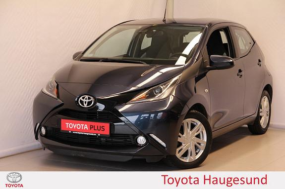 Toyota Aygo x-play 1,0  2017, 21489 km, kr 135000,-