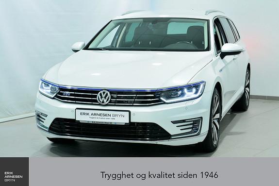 Volkswagen Passat GTE PLUG-IN HYBRID *KAMPANJE*  2017, 39639 km, kr 309900,-