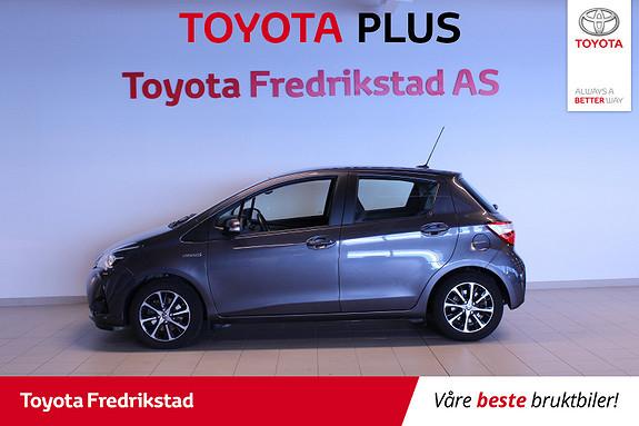 Toyota Yaris 1,5 Hybrid Active+ e-CVT aut  2018, 50200 km, kr 219000,-