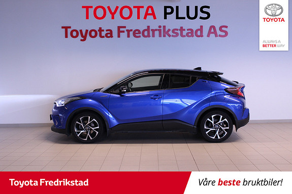 Toyota C-HR 1,8i Hybrid Dynamic Tech  2017, 44100 km, kr 299000,-