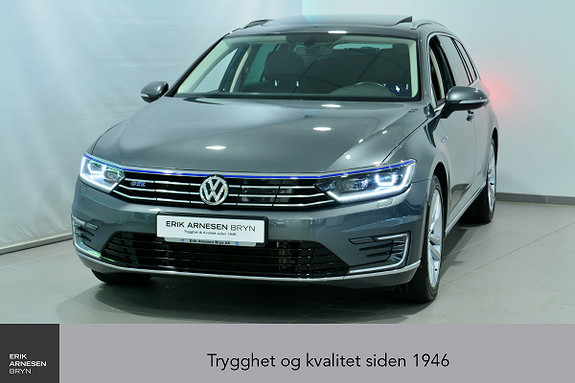 Volkswagen Passat GTE PLUG-IN HYBRID *KAMPANJE*  2017, 43800 km, kr 329900,-