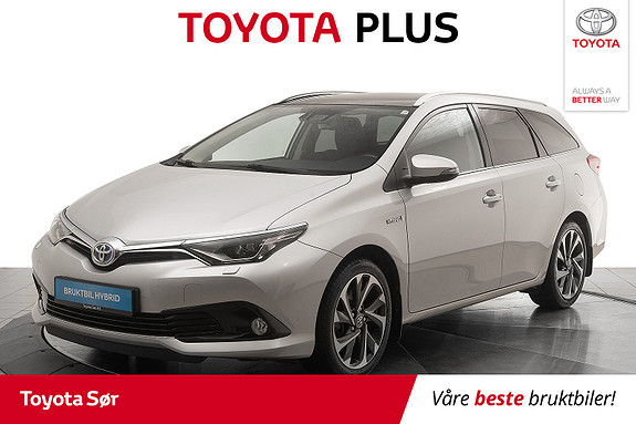 Toyota Auris Touring Sports 1,8 Hybrid Style  2016, 40510 km, kr 225000,-
