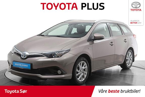 Toyota Auris Touring Sports 1,8 Hybrid Active S m/hengerfeste  2016, 38900 km, kr 219000,-