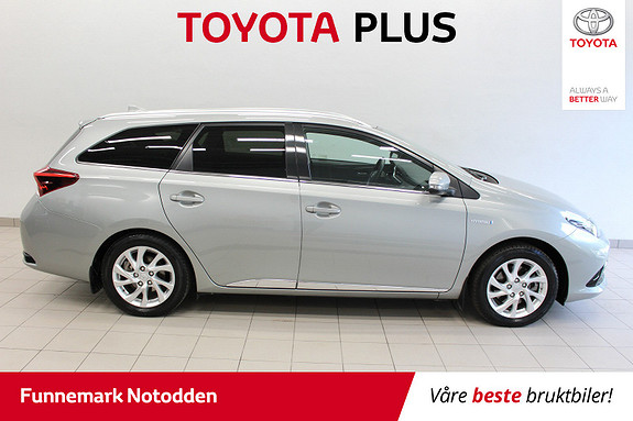 Toyota Auris 1,8 Hybrid E-CVT Active Sport 136hk Navi Ryggek. DAB+ mm  2018, 52000 km, kr 259000,-
