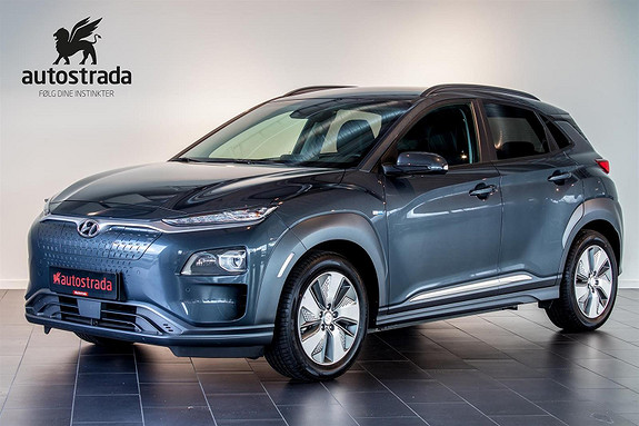 Hyundai Kona Electric Premium 64kWh Skinn/ACC/HUD++