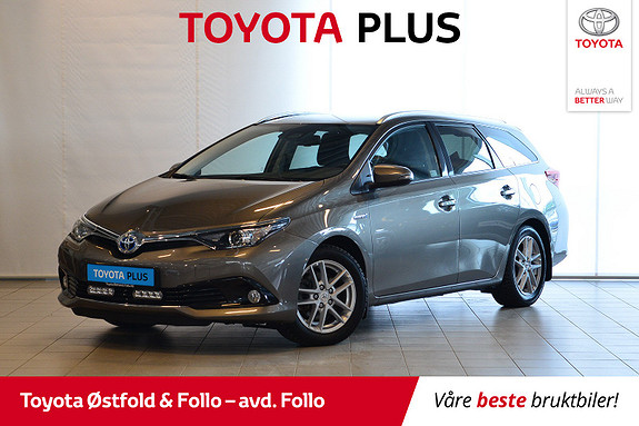 Toyota Auris Touring Sports 1,8 Hybrid Active Sport Hengerfeste, lys  2017, 33577 km, kr 239000,-