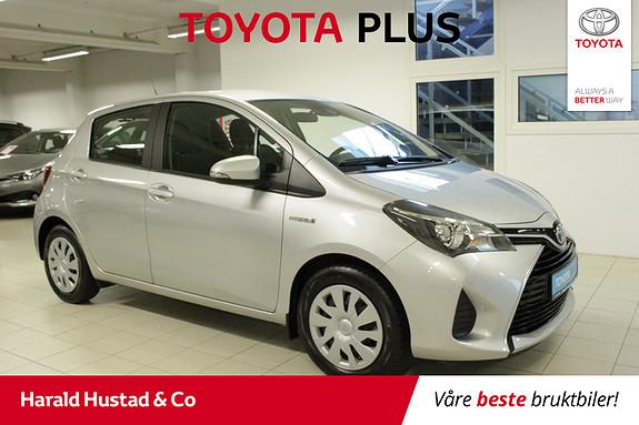 Toyota Yaris 1,5 Hybrid Active S e-CVT  2016, 4905 km, kr 164000,-