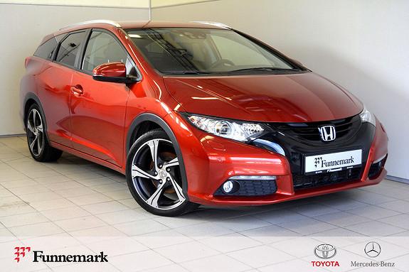 Honda Civic Tourer 1,6 i-DTEC Executive ADAS I //Toppmodell//  2014, 54000 km, kr 169000,-