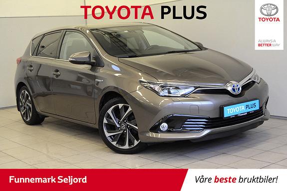 Toyota Auris 1,8 Hybrid E-CVT Style Bi led lys//navi// h feste//Dab+  2016, 42000 km, kr 209000,-