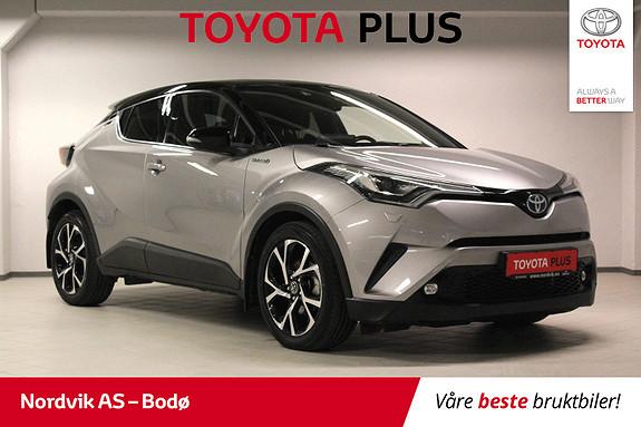 Toyota C-HR 1,8i Hybrid Dynamic Tech  2017, 44199 km, kr 299000,-