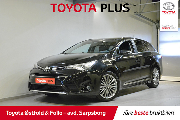 Toyota Avensis Touring Sports 1,8 Active Style , HENGERFESTE,  2015, 78 700 km, kr 218 000,-
