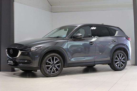 Mazda CX-5 2,2DE 150hk Optimum AWD aut Webasto; Skinn, Krok ++  2018, 29890 km, kr 459000,-