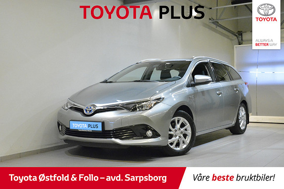 Toyota Auris Touring Sports 1,8 Hybrid Active S  2016, 40 300 km, kr 215 000,-