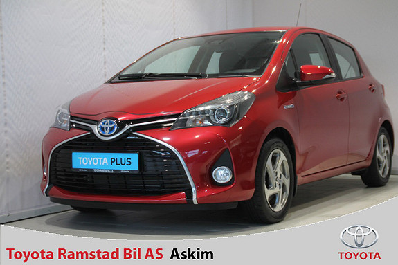Toyota Yaris 1,5 Hybrid Active S e-CVT  2016, 8956 km, kr 179000,-