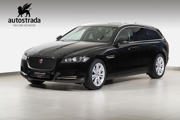 Jaguar XF 2.0  Sportbrake Prestige 180 HK AWD  2019, 5000 km, kr 569000,-