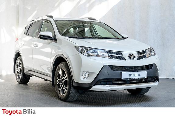 Toyota RAV4 2,0 D-4D 4WD 71'N Editon ,hengerfeste, DAB+, navigasjon  2015, 75311 km, kr 279000,-