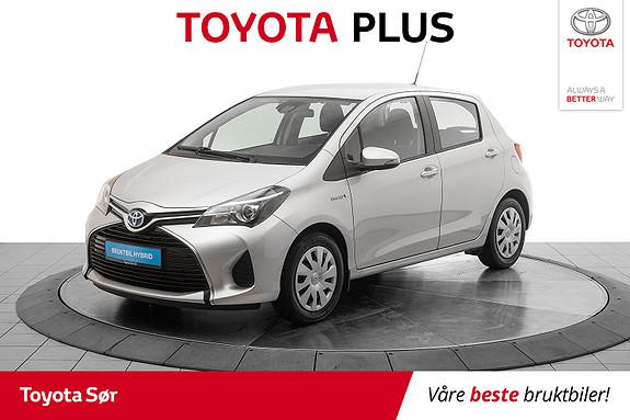 Toyota Yaris 1,5 Hybrid Active e-CVT Lav km,  2016, 15798 km, kr 169000,-