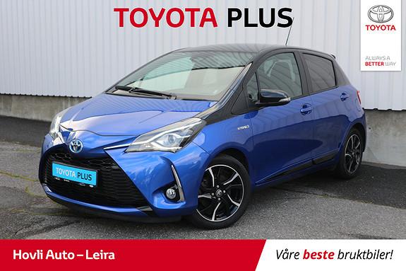 Toyota Yaris 1,5 Hybrid Bi Tone Blue e-CVT aut  2017, 18000 km, kr 199900,-