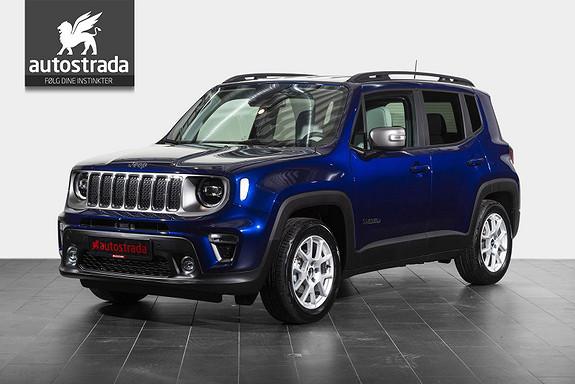 Jeep Renegade 1.6 Mjet 120hk Limited  2019, 15 km, kr 387700,-