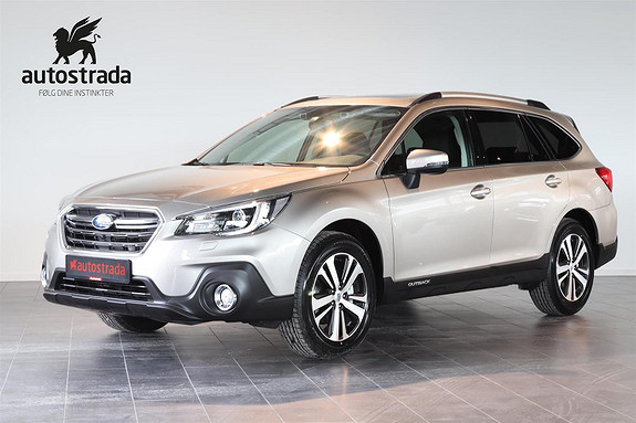 Subaru Outback Sport Premium 2.5i AWD/DAB+/NAV/Skinn. 1,95% rente  2019, 10 km, kr 568750,-